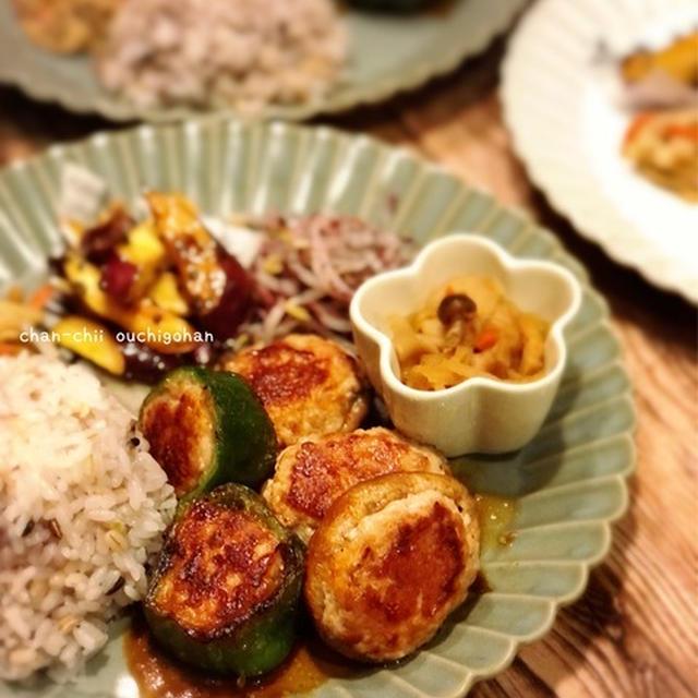 【レシピ】ごはんがススム♡椎茸の肉詰め&ピーマンの肉詰め♪ と 挑戦状。