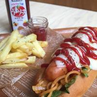 ブルドックソース♪ うまソーストマトタイプモニター☆ホットドッグ