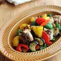 簡単☆お弁当にも◎さば缶と彩り野菜の塩昆布炒め