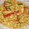 カレー風味の「炒り豆腐」
