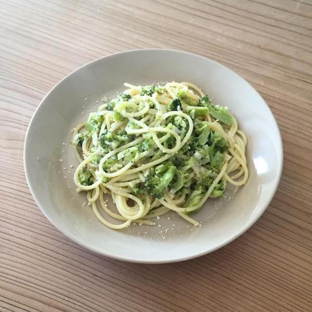 ブロッコリのスパゲッティー