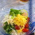 よくばりソーメン♪[レシピ]錦糸玉子は残ったら冷凍できますよ^^ by P子さん