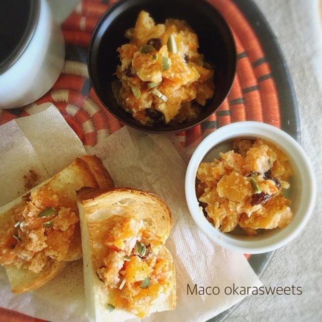 【レシピ】柿とおからのスイーツディップ♪