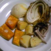 ラー油で野菜のロースト