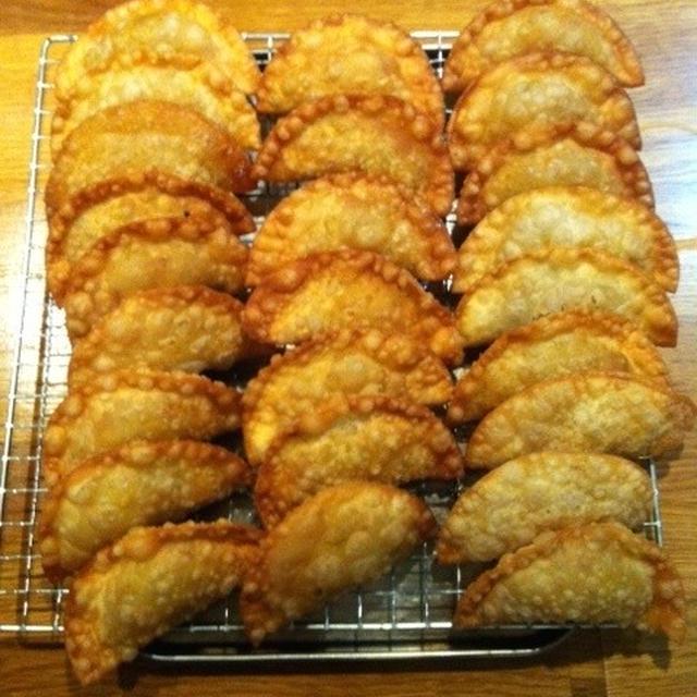 タコミートでおつまみを作る 「タコス揚げ餃子」