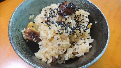 【S・E・K・O料理】モチモチの栗ご飯・醤油味