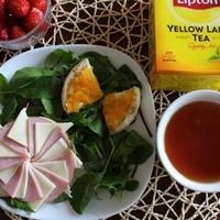 リプトン イエローラベル 紅茶でひらめきのある朝を♪