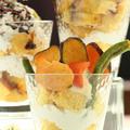 【レシピ】かぼちゃシフォンのパフェ ~子供の食育に最適~