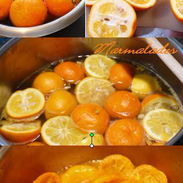 セビルオレンジマーマレードの簡単レシピ