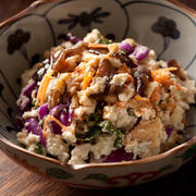 厚揚げ豆腐を使えばとっても簡単!副菜にぴったりの「白和え」レシピ