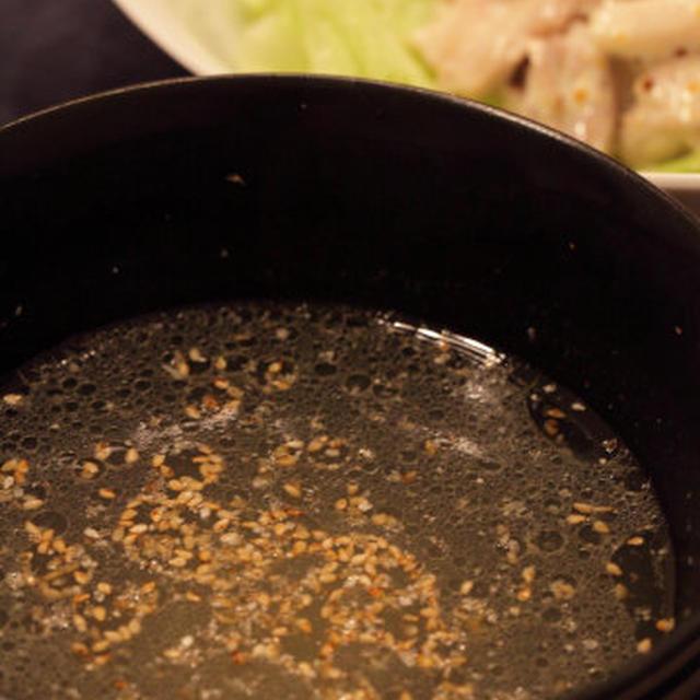ゆで鶏のスープ