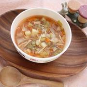 朝食に♪簡単!ミネストローネ風スープ