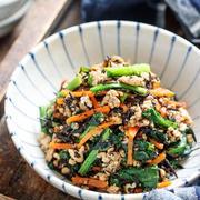 コスパ良し&簡単調理♪「小松菜」で作るお弁当おかず5選