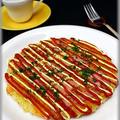 朝ごはんに!ベーコンとチーズの卵焼きご飯