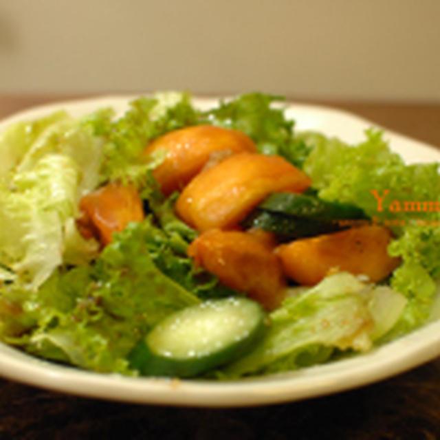 柿のバルサミコサラダ☆
