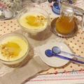 冬瓜の*豆乳ヨーグルト&生クリームのとろりん*ゼリー♬