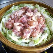 「よろこばレシピ」にレシピ投稿しました★塩だけで味わう♡鶏しお鍋♪