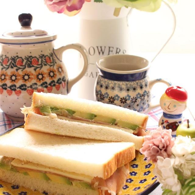 ランチにも朝ごはんにもお弁当にも最適!家族みんなが大好きなサンドイッチ!