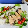 カオマンガイ ☆ 鶏手羽先でタイ風蒸し鶏ご飯