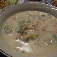 白菜のミルクスープ ジンジャープラスであったかに(^_-)-☆