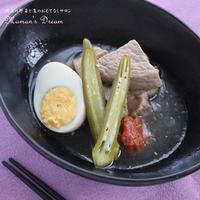 【肉レシピ】豚肉と梅酢のさっぱり角煮