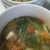 タイ風春雨スープ