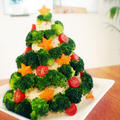 ポテサラでクリスマスツリー with TREVISIOL