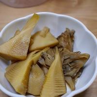 筍と舞茸煮と ワンプレート