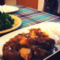 豚の角煮からの~「豚の角煮だいこんカレー」