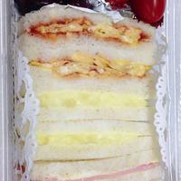 ★サンドイッチ弁当☆
