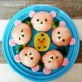 【美活GP】レモン飯♡生ハムでリラックマの手まり寿司