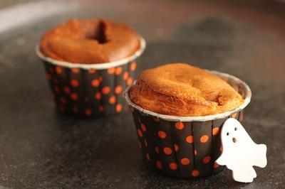 ハロウィンに♪プレゼントにも♪カップ入りベイクドチーズケーキ