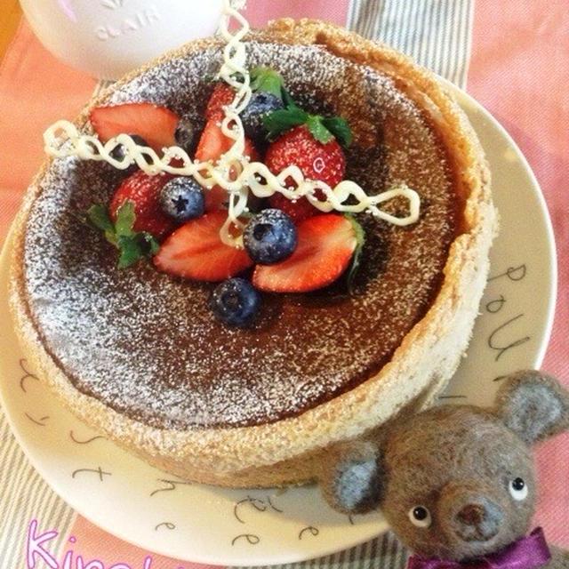 フレッシュ&濃厚☆苺のベイクドチーズケーキ