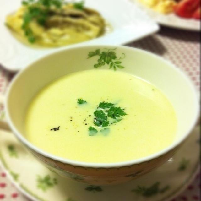 フレッシュコーンのポタージュスープ