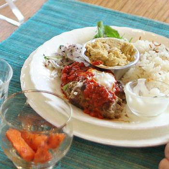 トルコ料理でワンプレートのお料理教室