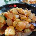 《レシピ有》野菜3つ!レンジで簡単!ラタトゥイユ、ラーメン。