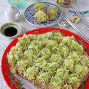 冷めても柔らか!フライパンで簡単たっぷりキャベツの豆腐しゅうまい