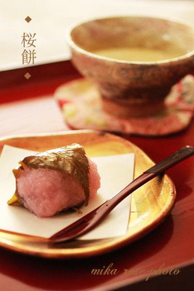 レンジで簡単 桜餅