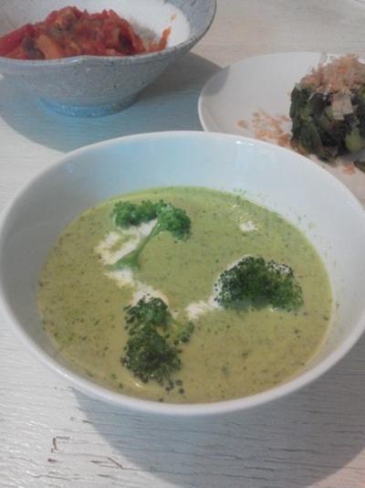 レタスのポタージュスープ