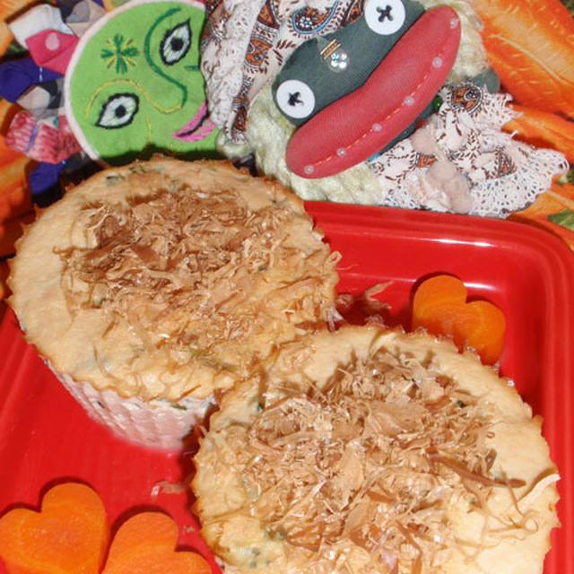 ゴーヤちゃんぷる-風豆腐&ゴーヤの梅胡麻サラダ(お家カフェ)