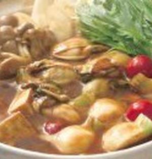 牡蠣(かき)のカレー鍋
