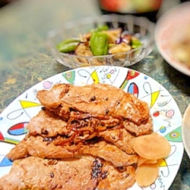 醤油麹で★豚肉のしょうが焼き