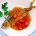 アジの丸揚げ♪甘酢っぱトマトあんかけ & TOKYO MXテレビ「5時に夢中!」でマツコさんがレシピを作ってくださいます♪