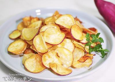 この美味しさ中毒性あり!『おさつどきっ塩バター味みたいなさつまいもチップス』の作り方