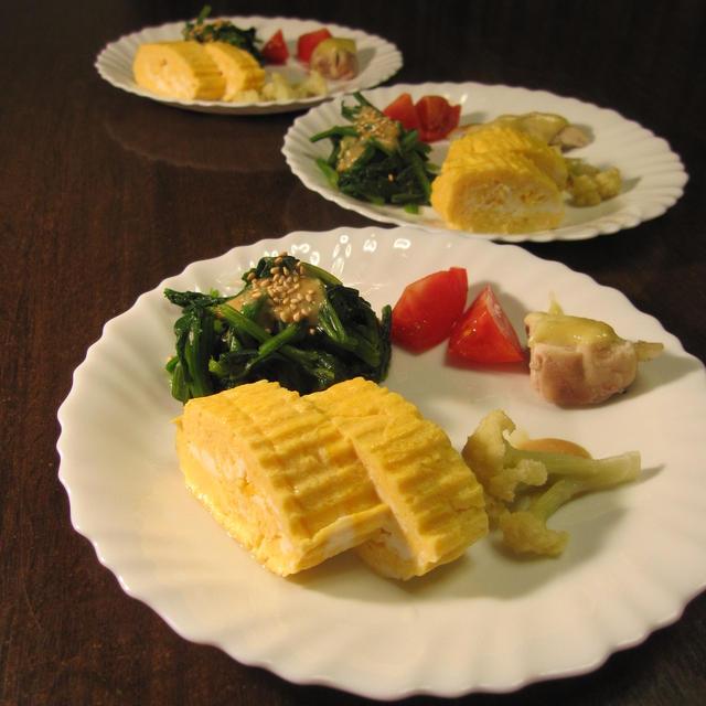 ある日の朝食と第七水餃子