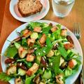 デーツ&チーズクルトンのサラダ ~ 緑の野菜をもりもり食べる♪ by mayumiたんさん