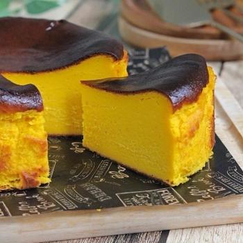 かぼちゃのバスクチーズケーキ♪