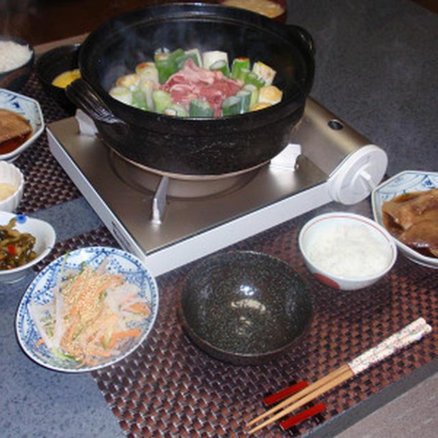 ねぎすき焼き&ぶりのおろし煮