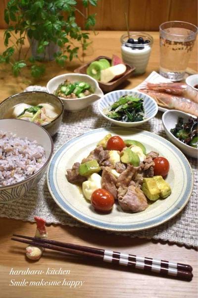 【レシピ】豚肉とアボカドチーズのねぎわさび醤油✳︎こりゃたまらん!お酒のアテにも〜