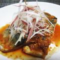さらしネギかけ鯖の味噌煮